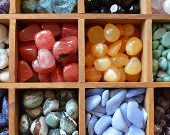 Crystal Tumbled Stone