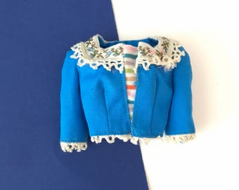 Vintage Barbie in Holland Top Blouse  #0823