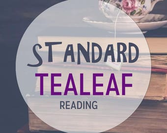 Standard Tea Leaf Reading, PDF, Email Psychic Reading || Fast || 48 hour psychic