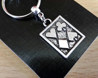 Ace Keychain Etsy