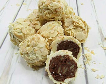 Luxury Chocolates White chocolate rochers 330 grams