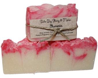 Plumeria Homemade Soap
