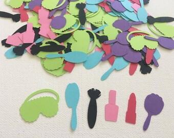 Spa Party Confetti, Spa Birthday Confetti, Girls Birthday, Spa Confetti, Makeup Confetti, Spa Day Party, Spa Theme Party