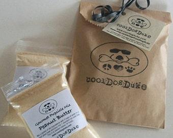 Frozen Dog Treats Peanut Butter Gourmet Pupscicle Dry Mix