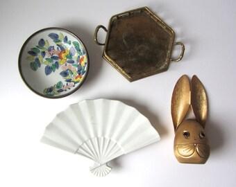 Porcelain Fan Dish