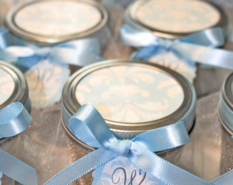 It's a boy Pie in the jars, Baby boy shower  - 3 Pie in the jars