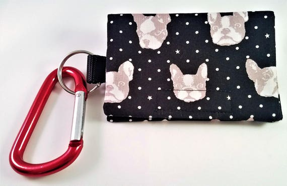 Bag Buddy - Dog Poop Bag Holder / Dog Poo / Leash Purse / Dog Waste / Pet Mess / Poo Bags / French Bulldog / Poo Bag Carrier / Poo