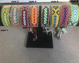 Friendship /bracelet bracelet Brazilian + chain