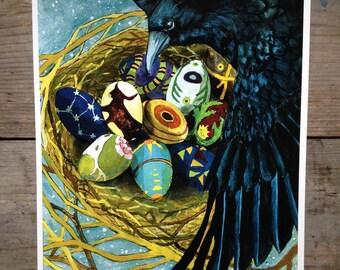 Crow Nest Print