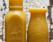 Beeswax Candle Collection - Milk & Honey - Lg -and- Md.