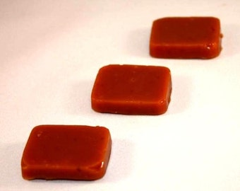 Licorice Caramels 4 ounces Wrapped