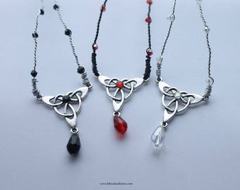 Gothic Celtic Teardrop Circlet