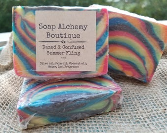 Dazed & Confused Soap- Summer Fling or Tutti Fruiti