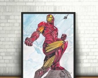 Marvel - Issue 1: IRON MAN (Prints)
