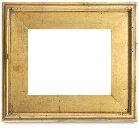 Large Gold Leaf Plein Air Picture Frames Modern Frame Wood