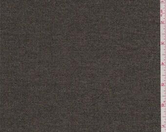 Gold Metallic Denim, Fabric By The Yard
