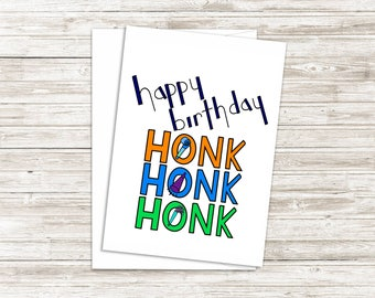 Funny Birthday Card, Happy Birthday Card, Birthday Card For Friend, Birthday Card For Him, Card For Her, 5x7 Greeting Card, Blank Inside