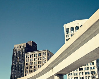 Detroit Photography - The People Mover - Detroit, Michigan