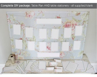 DIY package in oh so pretty floral design