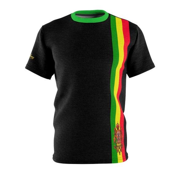 King Monkey Products Unisex Polyester T Shirt Black  0022