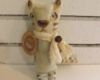 SALE,Cat Doll,Primitive Art Doll,Art Cushion Doll,Softie,Art Doll,Shabby Chic,Folk Art Doll,Folk Art Cat,Ornie,Whimsical,,Animal Art