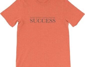 Success Requirements - success t shirt, discipline t shirt, persistence tshirt, consistency tshirt, perseverance tshirt, motivational tshirt