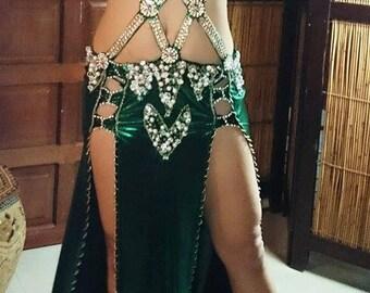 New Egyptian handmade bellydance costume, costumes  belly dance dress, dance wear