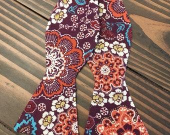 Floral Bow Tie - Self Tie Bow Tie - Floral