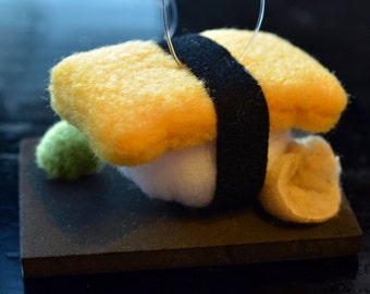 egg sushi ornament