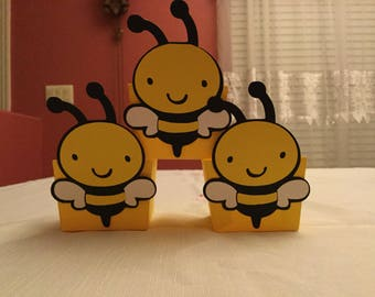 Cute Bumble Bee Treat Cups Set of 12