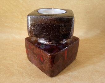 Ceramic candle holder - 2341-011
