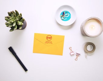 Personalized Address Stamp - Hanko