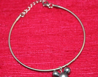 Pearl Mickey Mouse Bracelet