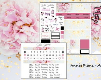 May Montly Kit - Annie Plans - A6 RINGS