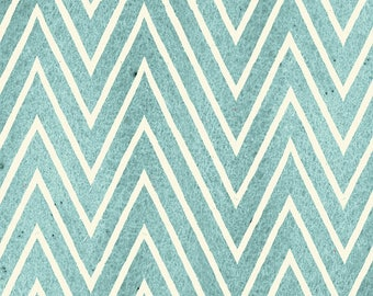 Chevron Blue, Draw Near, J Wecker Frisch, Quilting Treasures, Artsy Fabric, Artist Fabric, Quilting Cotton, Fabric By The Yard, Zig Zag