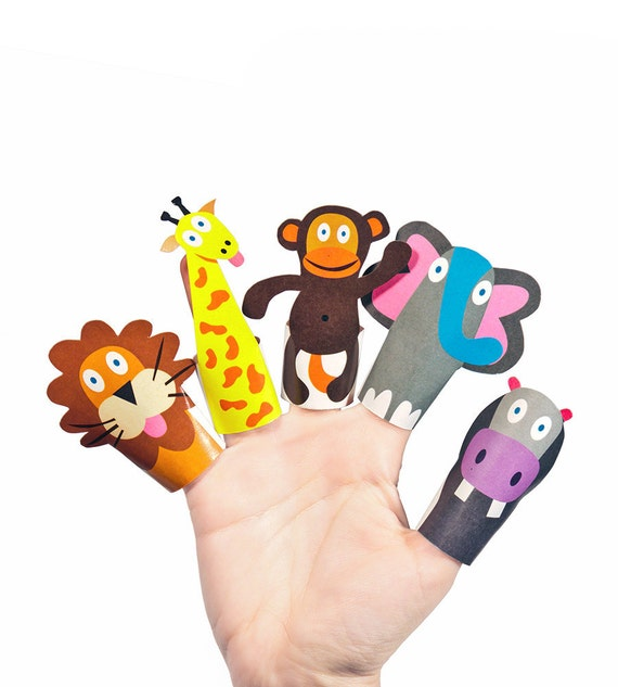 Influential image intended for printable finger puppets