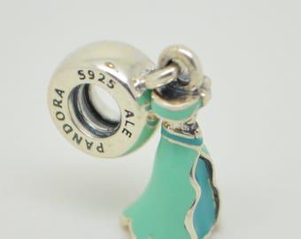 Authentic Pandora  Dangle Disney Jasmine's Dress 791791ENMX