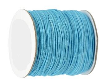 Coil 0.5mm/0.8mm/1mm - light blue - braided Nylon thread
