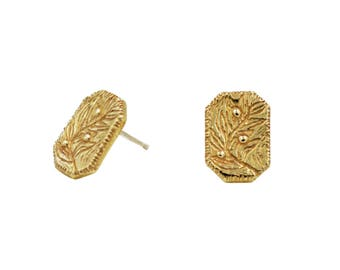 Olive Branch Earrings, Nature Inspired Earrings, Peace Earrings, Peace offering Earrings, Plant Earrings, Leaf Earrings, Branch Earrings