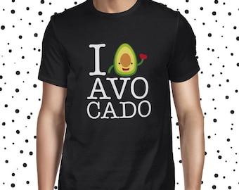 Avocado T-shirt Cute Vegan Tee Vegetarian Tee Funny Vegan Tshirt Vegan Shirt Plant Based Tee Plant Based Shirt Cute Plant Tee Cute Vegan T