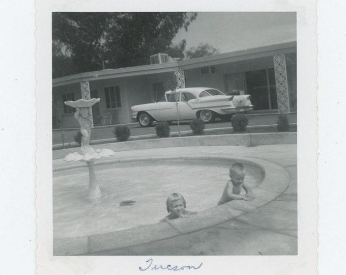 Vintage Snapshot Photo: Tucson, 1950s [86693]