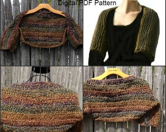 Claire's Crochet Shrug PDF Pattern  Sassenach Shrug  Is not a finished product.
