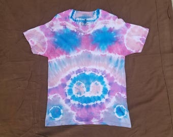 "Size Large: ""Mirror"" Impromptu Tie Dye Shirt #22"