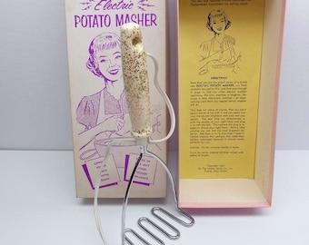 Vintage Electric Potato Masher Funny Gag Gift