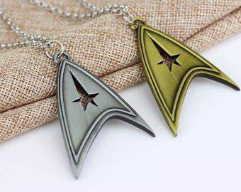 Star Trek  Necklace Pendant Dragon Dinosaur Chain Woemn Mens gift