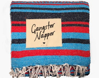 Mexican Blanket with 'Gangster Napper' Patch