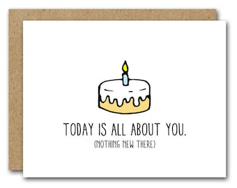 Birthday card boss Etsy