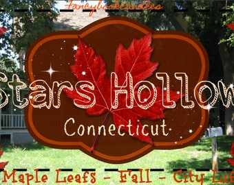 Stars Hollow Connecticut-Gilmore Girls inspired-Soy candle-handmade