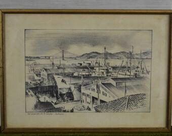 San Francisco Drawing
