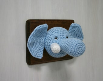 Crochet Taxidermy Elephant